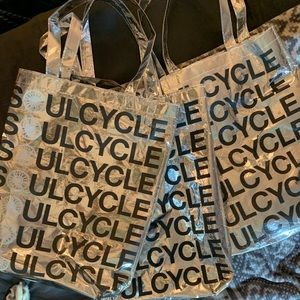 Reusable soulcycle bags